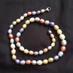 Honora multicolored pearls